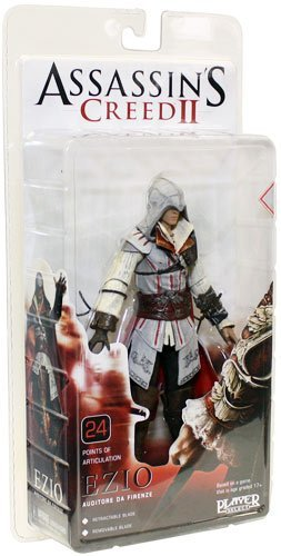 Assassins Creed 2 - Ezio Action Figure - white outfit